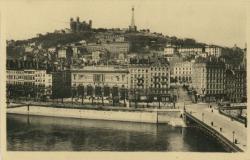 Lyon : Coteau de Fourvière ; Le Conservatoire.