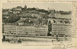 Lyon : Les Chartreux ; vus de la Colline de Fourvière.