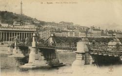 Lyon : Pont du Palais de Justice.