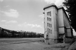 [Vestige de l'atrium du Palais de la Foire de Lyon]