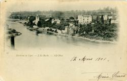 Environs de Lyon : L'Ile Barbe.