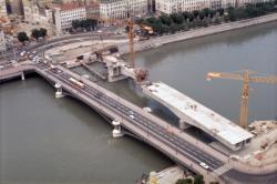 [Construction du nouveau Pont Morand]