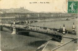 Lyon : Pont du Midi.