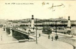 Lyon : Le Pont du Midi sur le Rhône.