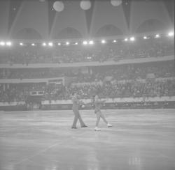 Championnat de patinage au Palais des Sports