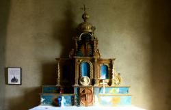 Rochefort, Notre-Dame de la Pitié, également appelée chapelle Saint-Laurent, retable du 17e siècle
