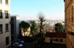 Montée du Boulevard, vue sur Lyon