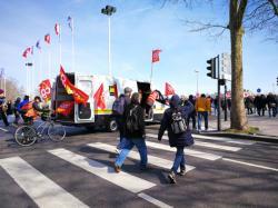 [Manifestation nationale des cheminots SNCF]