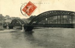 Lyon : Pont de la Boucle.