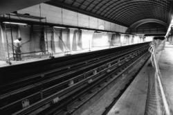 [Transports en commun de l'agglomération lyonnaise. Aménagement de la nouvelle station de métro Vieux Lyon - Cathédrale Saint-Jean (ligne D)]