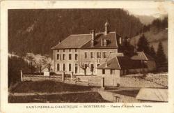 Saint-Pierre-de-Chartreuse : Montbruno ; Pension d'Altitude pour fillettes.