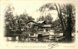 Lyon : Le Chalet des Iles (Parc de la Tête d'Or).
