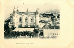 Lyon : Façade latérale de Fourvière.