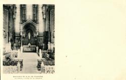 Basilique de N.-D de Fourvière : Le Choeur ; L'Autel et le Ciborium.