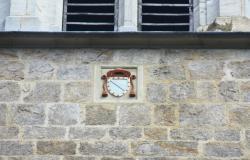 [Saint-Symphorien-sur-Coise, Eglise Collégiale, armoiries du cardinal Pierre Girard]