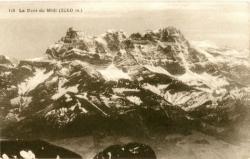 La Dent du Midi (3260 m.).