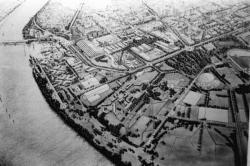 [Plan du Parc du Confluent à Gerland]