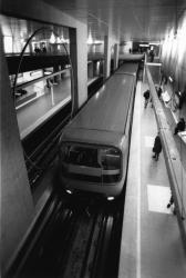 [Métro de l'agglomération lyonnaise. Station Gorge-de-Loup (ligne D)]