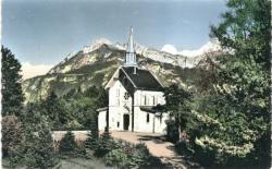 La Roche-Sur-Foron (Haute-Savoie) ; Chapelle de la Bénite Fontaine.