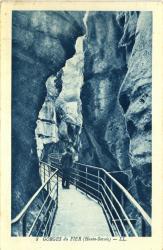 Gorges du Fier (Haute-Savoie).