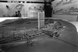 """[""""L'atelier du projet"""". Exposition sur la Cité internationale]"""