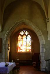 Église Sainte-Madeleine, transept sud, Genay