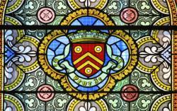 Église Sainte-Madeleine, vitrail, Genay