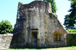 Fortin, tour d'angle, 15e siècle, Genay