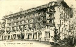 Divonne-les-Bains (Ain) : Le Nouvel Hôtel.