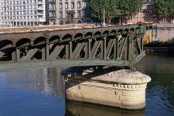 [Dépose du tablier du Pont de l'Homme de la Roche]