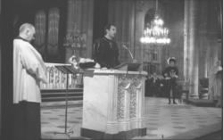 """""""Les Damoiseaux"""" : église Saint-Nizier"""