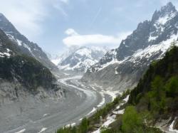 [La Mer de glace, le Montenvers, Chamonix-Mont-Blanc]