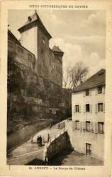 Site pittoresque de Savoie : Annecy ; La Rampe du Château.