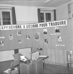 Sur Hemingway : Exposition et Reproduction de documents