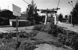 [Visite de l'ancienne piste de ski artificielle de La Sarra]