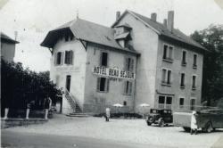 [Lac d'Aiguebelette : Hôtel Beau Séjour, Juilland]