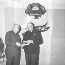 Transport Philibert : médailles du travail