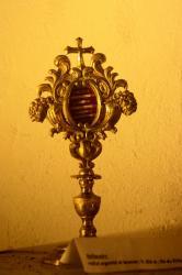 Reliquaire de la fin du 18e, église Saint-Roch, Grézieu-la-Varenne