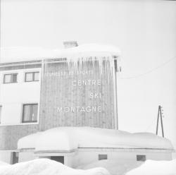 Ecole de ski de neige : centre de ski montagne