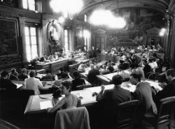 [Conseil municipal de Lyon : séance du 7 septembre 1986 (vote pour les sénatoriales)]