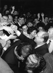 [Election présidentielle de 1988. Meeting de Raymond Barre au Palais des Sports]