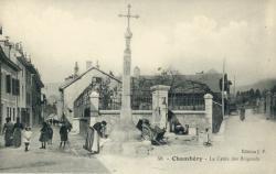 Chambéry - La Croix des Brigands