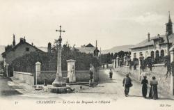Chambéry -  La Croix des Brigands et l'Hôpital