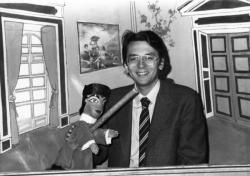 [Pierre Guillermo, directeur du Festival international de la Marionnette]