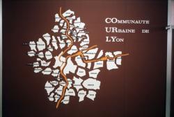 [Communes de la Communauté urbaine de Lyon (carte)]