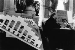[1re Biennale d'art contemporain de Lyon (1991). Conférence de presse]