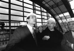 [Opéra national de Lyon (version Jean Nouvel) : visite de chantier en compagnie de l'architecte]