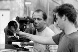 """[Tournage du film """"Au Pays des Juliets"""", de Mehdi Charef]"""