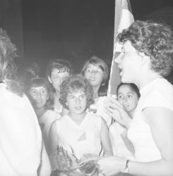 [Les Alouettes de Caluire - championnes de France 1963]
