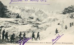Reconnaissance dans le massif du Pelvoux (briançonnais)